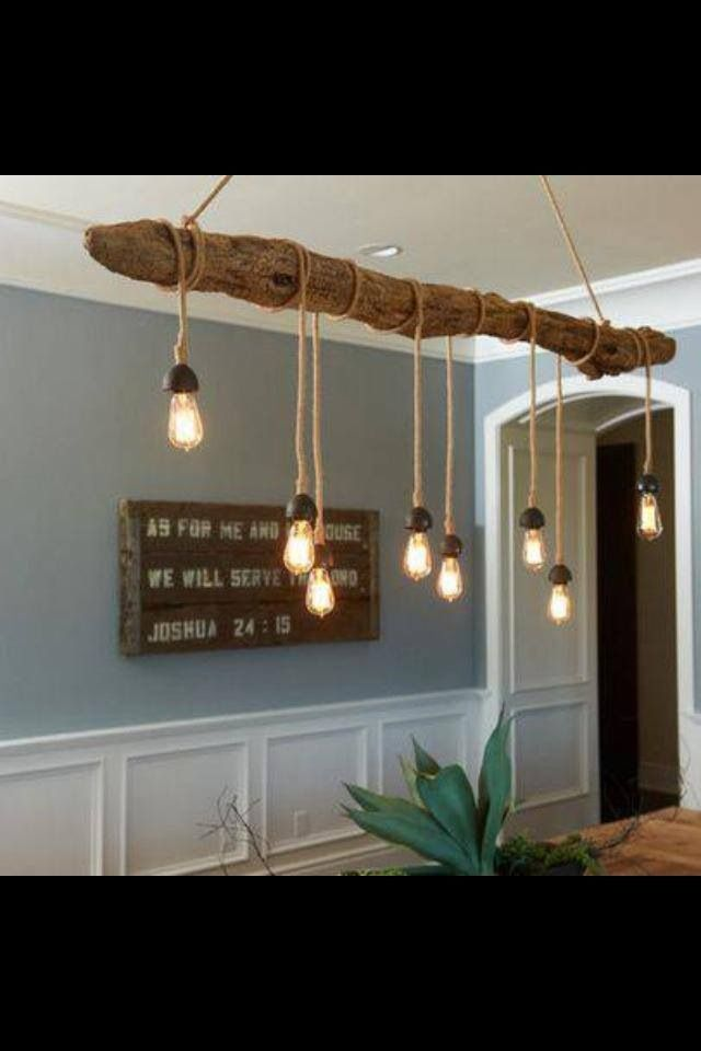 Great use of Edison bulbs! Very raw, elemental design.