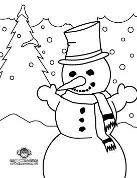 180 best KId\'s Winter Color Fun images on Pinterest | Adult ...