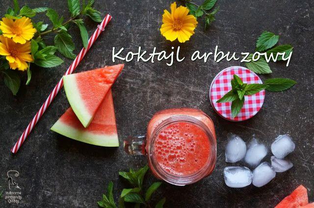 Kulinarne przygody Gatity: Orzeźwiąjacy koktajl arbuzowy