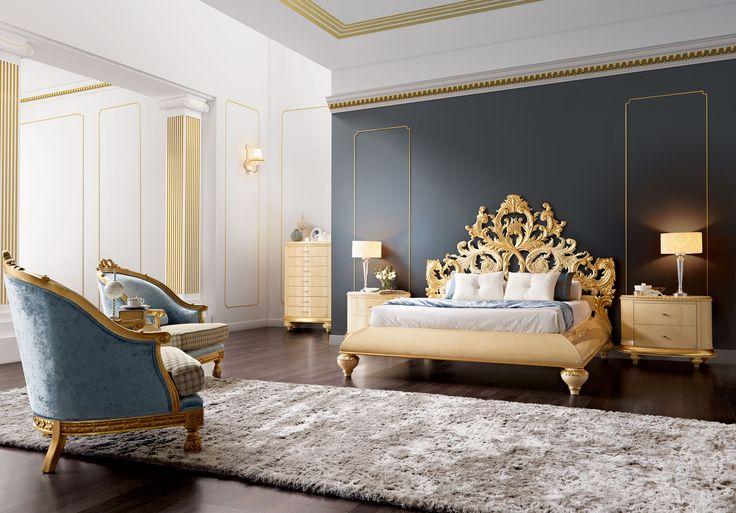 Venezia barroque bedroom  Jetclass | Real Furniture Luxury Interior Design