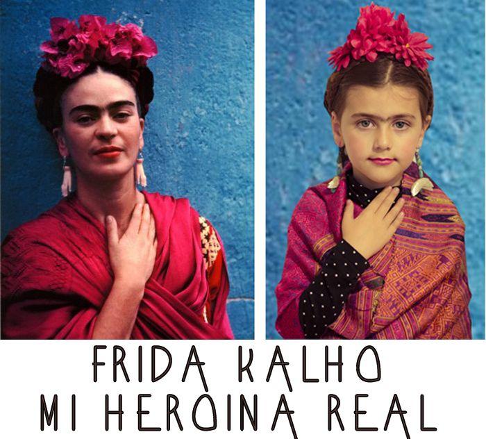 Heroes reales, Frida Kalho y Andy Warhol