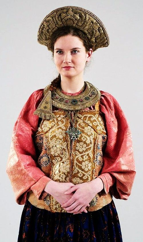 Russian costume 19-20 centuries