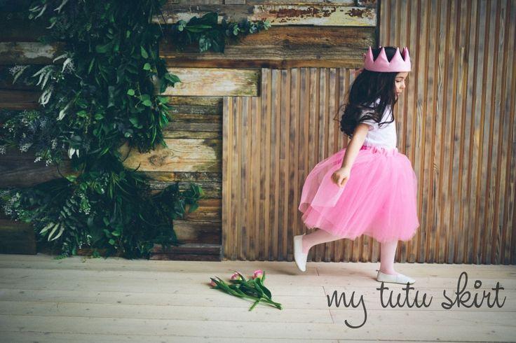 воздушная и пышная юбка пачка для маленькой принцессы