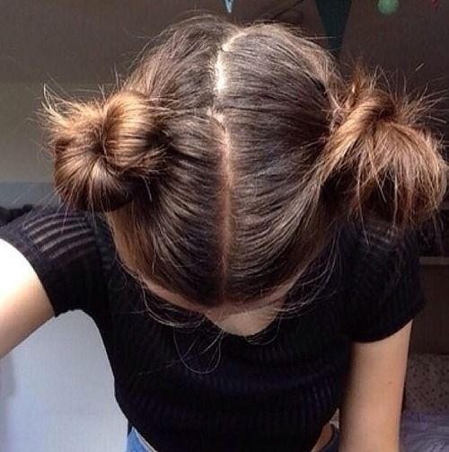 love these type of buns. ♡