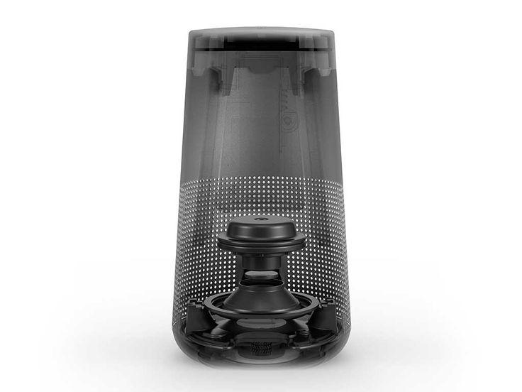 [拡大画像]ボーズ、360度全方位再生の円筒形Bluetoothスピーカー「SoundLink Revolve」(3/8) - AV Watch Watch