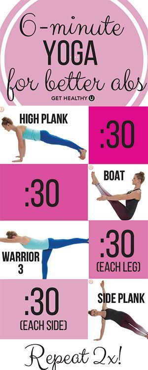 Do you want to work those abs? Then this 6-minute yoga routine for ABS is for YOU! Check it out! #yogaforabs #abworkouts #flatabworkout #yogaeverydamnday