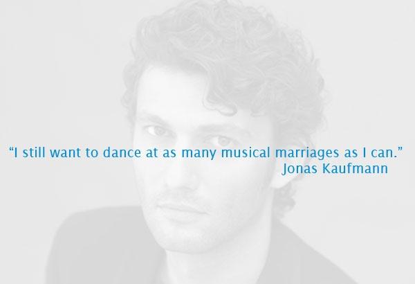 Jonas Kaufmann is immensly popular amongst the female BravaHDTV staff...