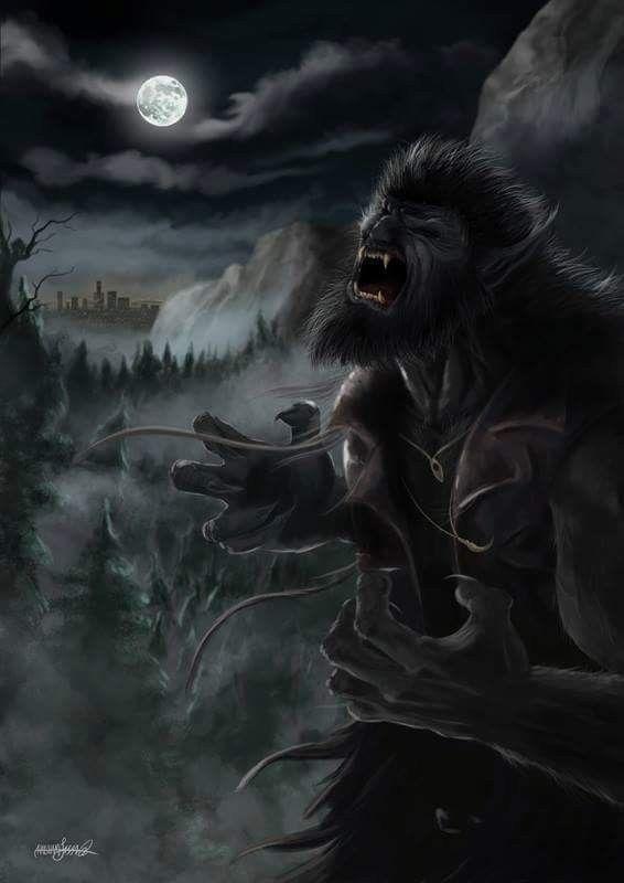 Werewolf Art | Werewolf art, Werewolf, Creature artwork