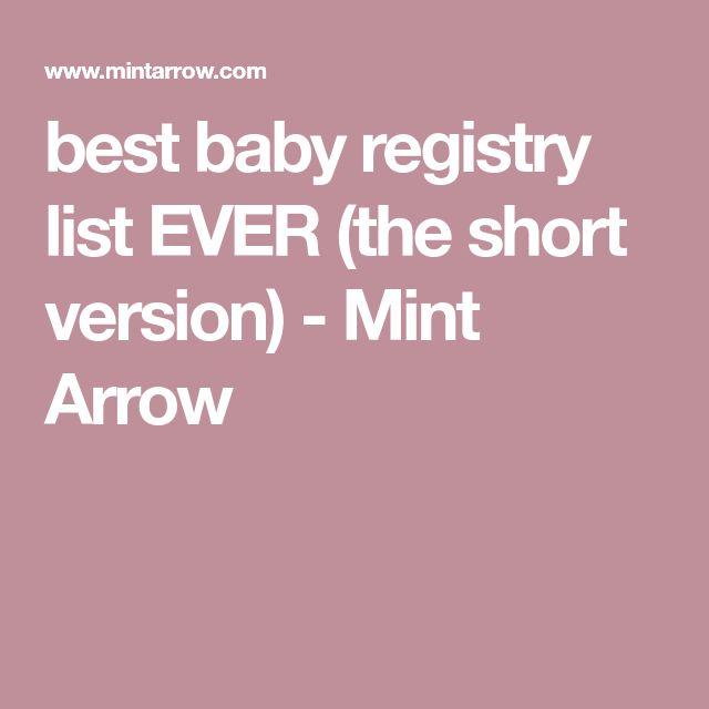 Best 25+ Baby registry list ideas on Pinterest Baby list, Baby - baby registry checklists