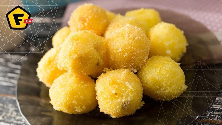 КАРТОФЕЛЬНЫЕ КЕЙК ПОПСЫ рецепт хипстера - Для приготовления картофельных кейкпопс вам понадобится: Посуда: https://f.ua/shop/posuda/ Как сделать кейк попс? Список ингредиентов на кейк-попсы: - Отварная картошка - Жаренный бекон - Масло, 20г - Твердый сыр, 50 г - Яйца, 2 штуки - Панировочные сухари
