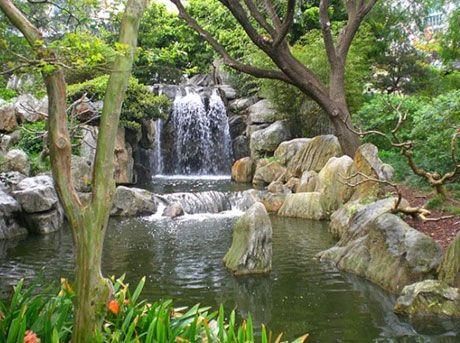 chinese waterfalls | Chinese-Waterfall