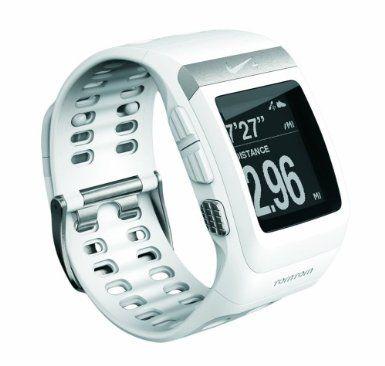 Nike+ TomTom Gps Laufuhr Nike + Sportwatch, white/silver, 1JA0.054.05: Amazon.de: Sport & Freizeit