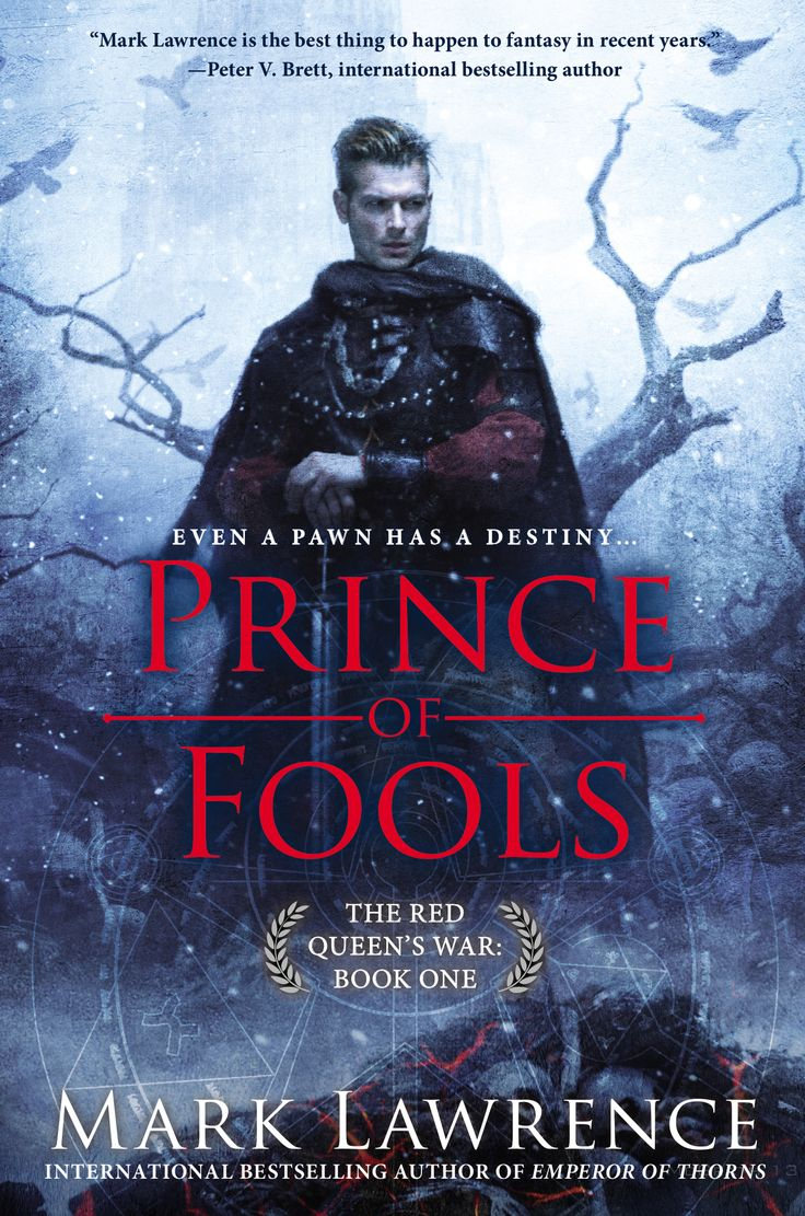 Prince Of Fools is book one in The Red Queen's War trilogy.  It is a perfect read for lovers of Game of Thrones.  This book is high adventure with a wonderful imagination.  Even though the main character, Prince Jalan, is a drinker, gambler, seducer of women and a total rake I found him quite endearing. Book two, The Liar's Key, is due to be released June 2nd.  I can't wait!