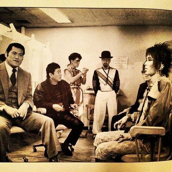 Twitter / HistoryImg: アントニオ猪木、ビートたけし、忌野清志郎 Antonio I ...