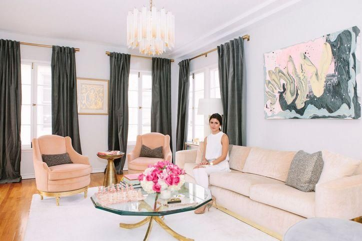 Rich Kids of Beverly Hills star Roxy Sowlaty's glam living room
