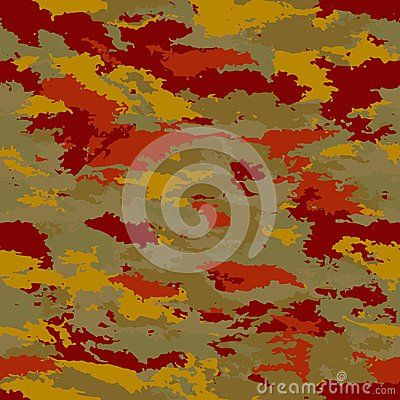 Vector camouflage seamless. Camouflage military background - vector illustration. Abstract spot pattern.