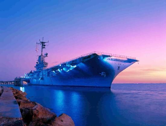 The Lady USS Lexington in corpus Christi, Texas