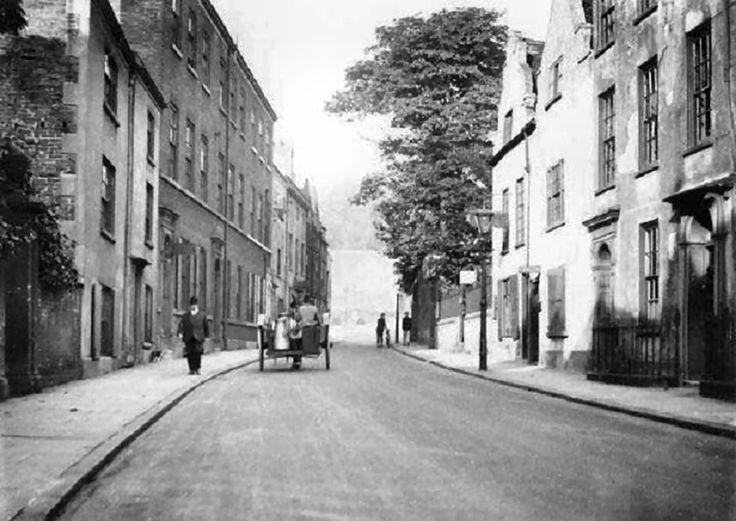 Castle Gate, Nottingham, c 1925.
