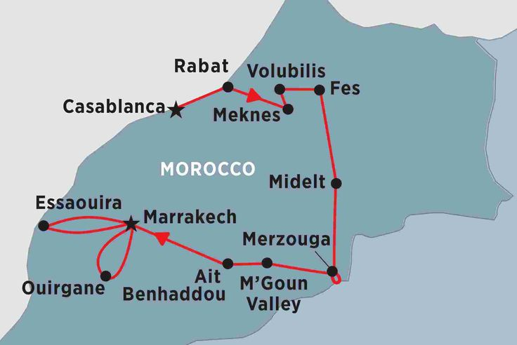 Highlights of Morocco Peregrine Adventures 16 days