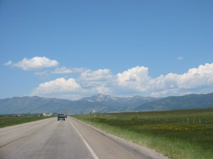 US HIGHWAY 20 TO YELLOWSTONE