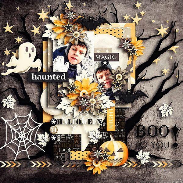 """A Spooky night"" by Tinci Designs"