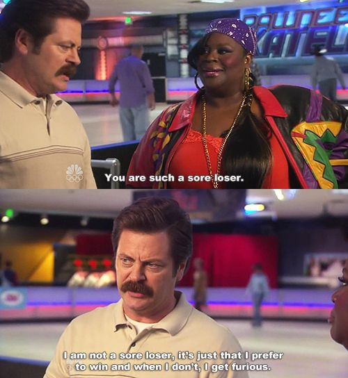 Ron Swanson is everything that epitomizes awesome