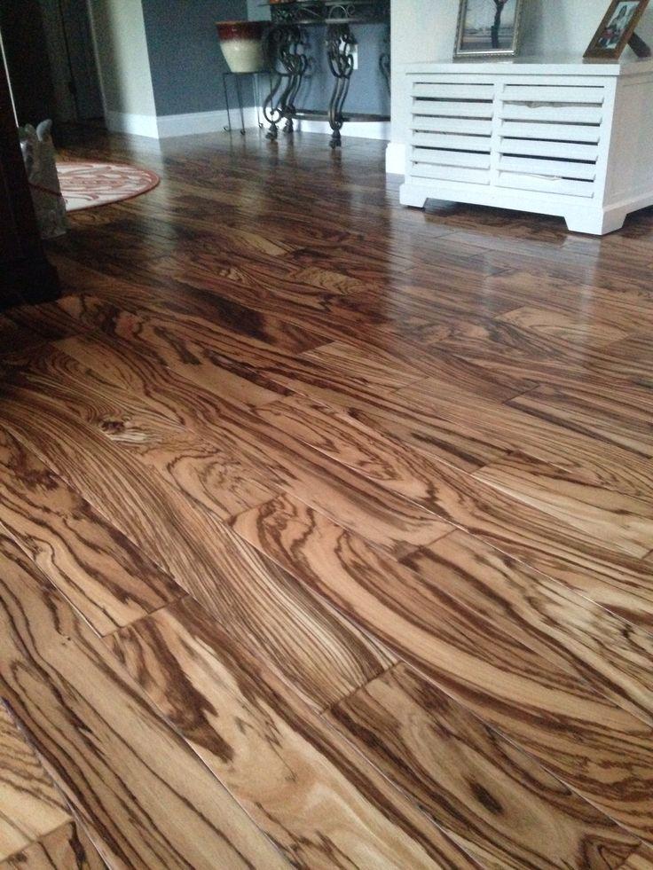 Tiger wood hardwood floors