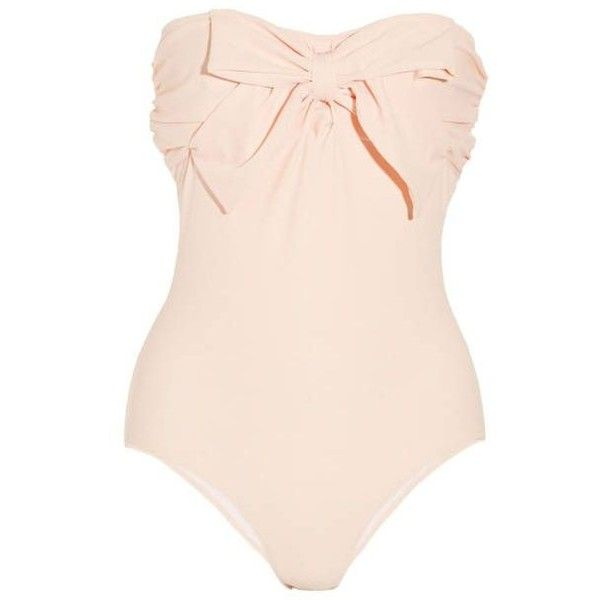 100 Swimsuits For Every Body Type ❤ liked on Polyvore featuring swimwear, swimsuit, swimming costume, swim suits, swim costume, bathing suit swimwear and swimsuit swimwear
