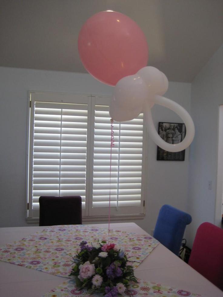 Pacifier balloon
