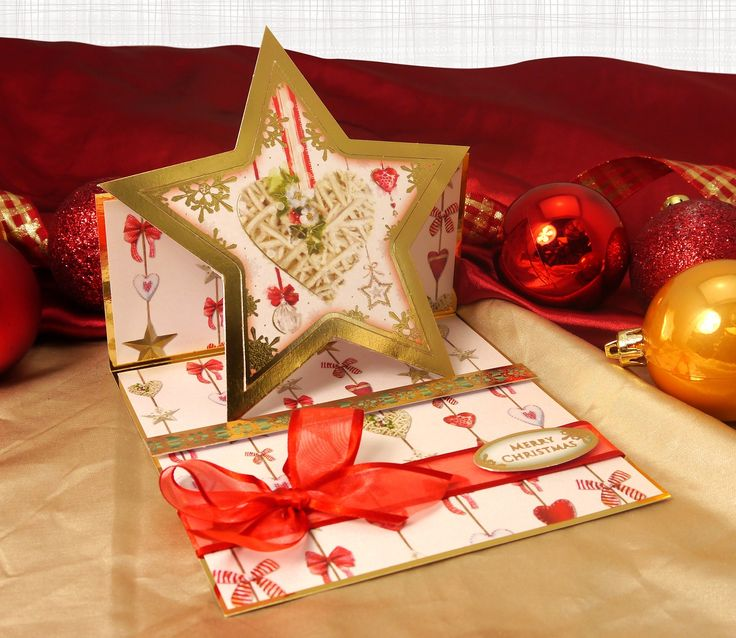 A Family Christmas by Hunkydory Crafts. Card made using 'Heartfelt Christmas' topper set http://www.hunkydorycrafts.co.uk/acatalog/Dazzling-Diamonds-Individual-Topper-Set-FAMX907.html#SID=279