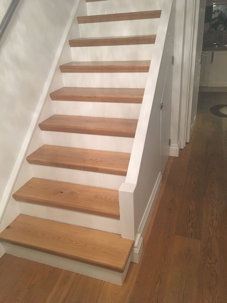 Best Engineered Oak Flooring On Stair Treads With Oak Threshold 640 x 480