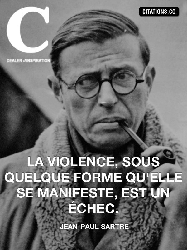 Jean-Paul Sartre, triste réalité Plus