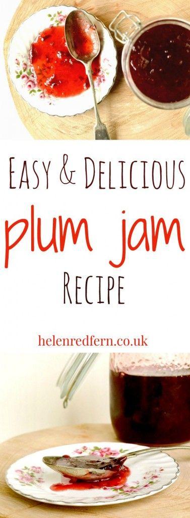 Delicious & Easy Plum Jam Recipe