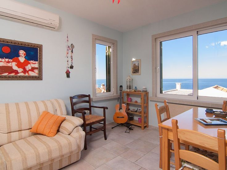 Panormos apartment rental - The living room area is sunny and pleasant all day long!