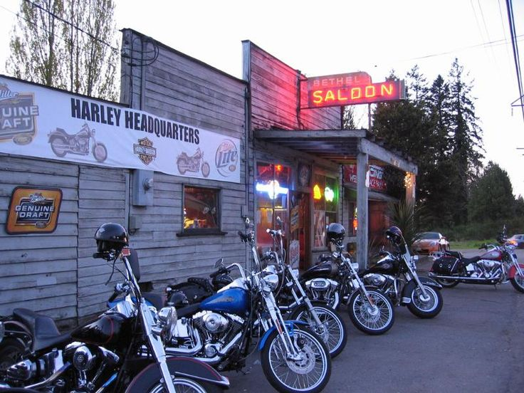 The Life - Bethel Saloon, a typical Biker bar