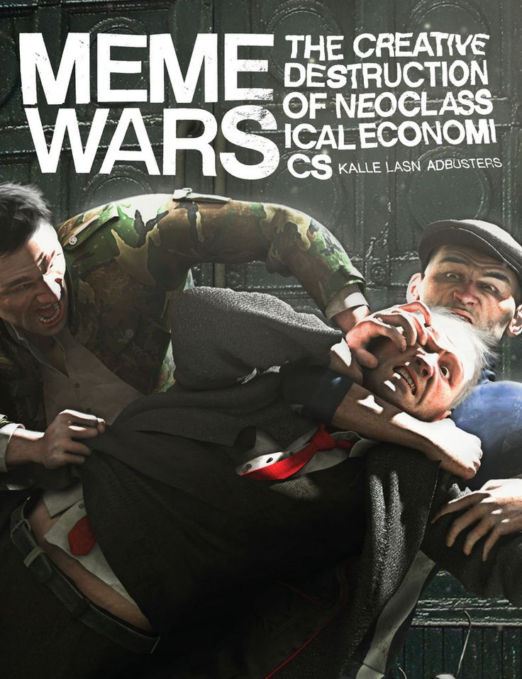 Meme Wars: The Creative Destruction of Neoclassical Economics by Kalle Lasn and Adbusters | From the editor and magazine that started and named the Occupy Wall Street movement, Meme Wars lays out the next steps in rethinking and remaking our world with a new economic paradigm.