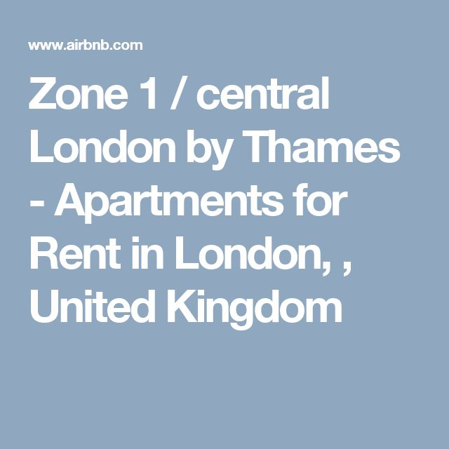 Zone 1 / central London by Thames - Apartments for Rent in London, , United Kingdom