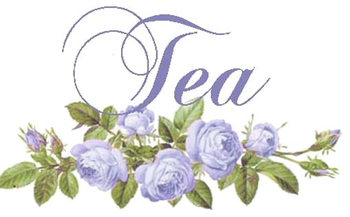 Tea lable...... this site has amazing floral lables