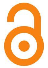 Logo del libre acceso, diseñado por la Biblioteca Pública Científica (Public Library of Science)
