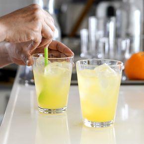 【自家製シロップレシピ】市販のジュースで作ってもOK!オレンジ風味のジンジャーシロップ。