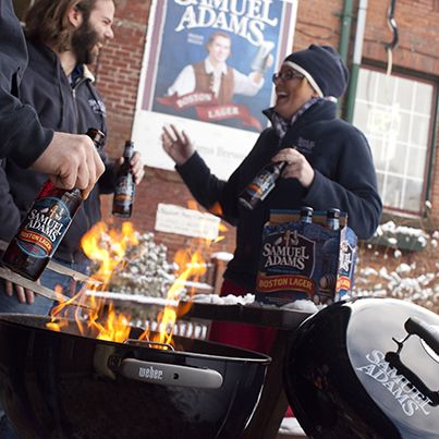 Fight the Chill with the Grill (and Boston Lager)! - The Samuel Adams Blog #GrillingWithSam