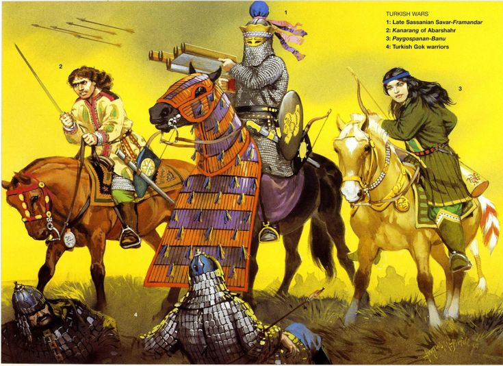 https://thelosttreasurechest.wordpress.com/2011/07/29/historical-warrior-illustration-series-part-xvi/sassanid-persian-cavalry-warriors-during-the-wars-against-the-turkish-tribes-in-the-7th-century-ad/