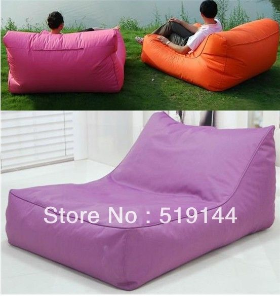 Free shipping Extra Beanbag Oversized lounge bean bags chair for your