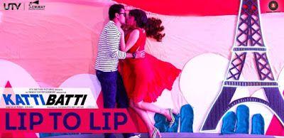 """Read Lip To Lip Song lyrics and Watch official Lip To Lip Video song from upcoming hindi film """"Katti Batti"""" starring Imran Khan and Kangana Ranaut"""