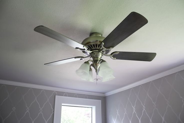 Pretty White Ceiling Fans: 17 Best Ideas About Painting Ceiling Fans On Pinterest