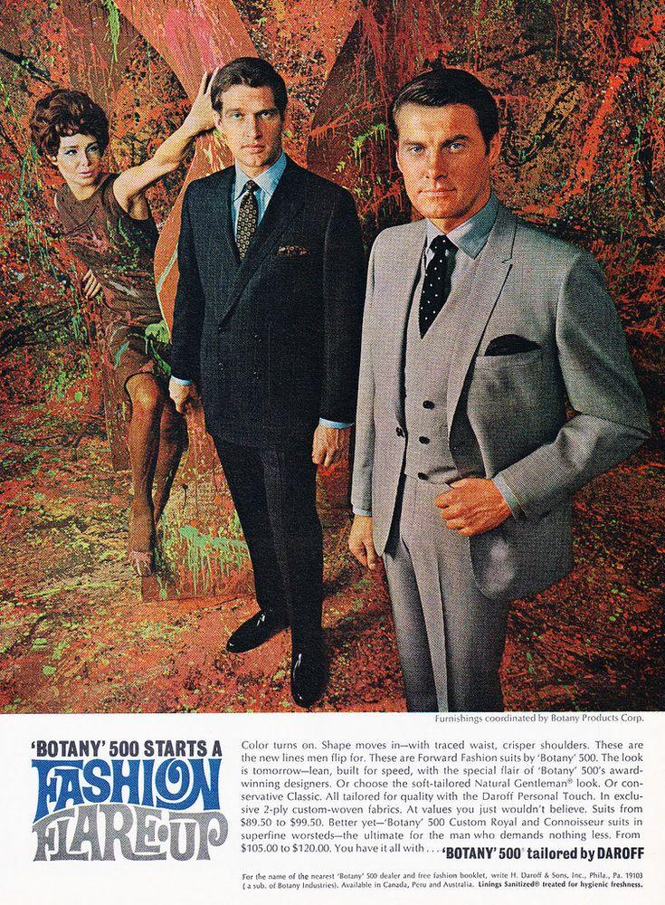 vintage everyday: Vintage Men's Fashion Ads