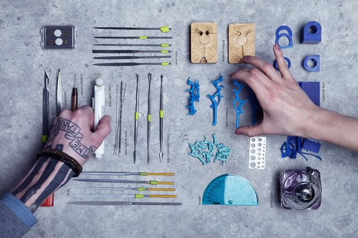 Tool arrangement by SMITH/GREY Jewellers