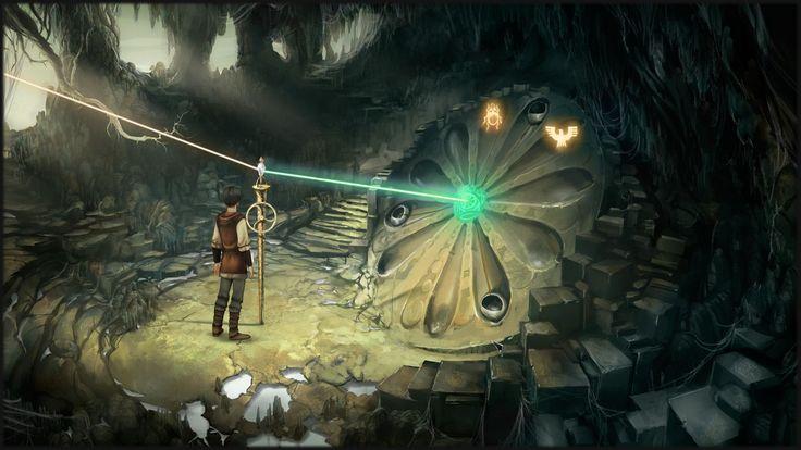 Review zu Satinavs Ketten, einem netten Adventure das in der Welt des Pen&Paper-Rollenspiels Das Schwarze Auge angesiedelt ist - http://www.jack-reviews.com/2015/03/das-schwarze-auge-satinavs-ketten-review.html