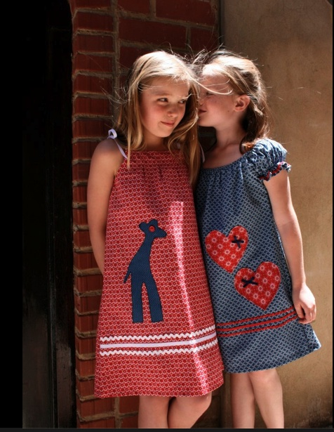 """""""JABULILE"""": Pretty, easy-going, everyday dresses for girls made in traditional African ShweShwe cotton and, providing job creation in South Africa."""