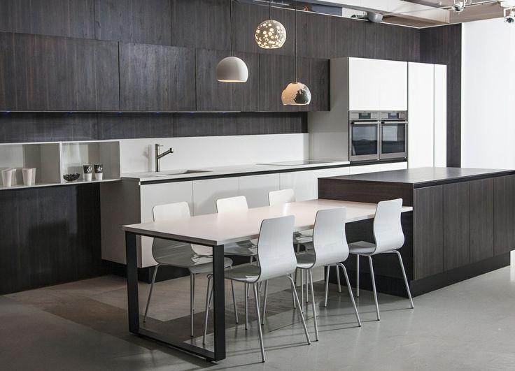 Scavolini kitchen + Talia Silva pendant lights